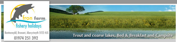 trout and coarse lakes, bed and breakfast and campsite